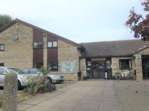 Photograph of King's Stanley village hall.