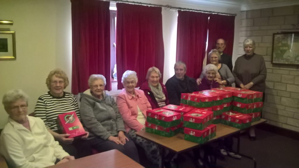 Parcels for Operation Christmas Child